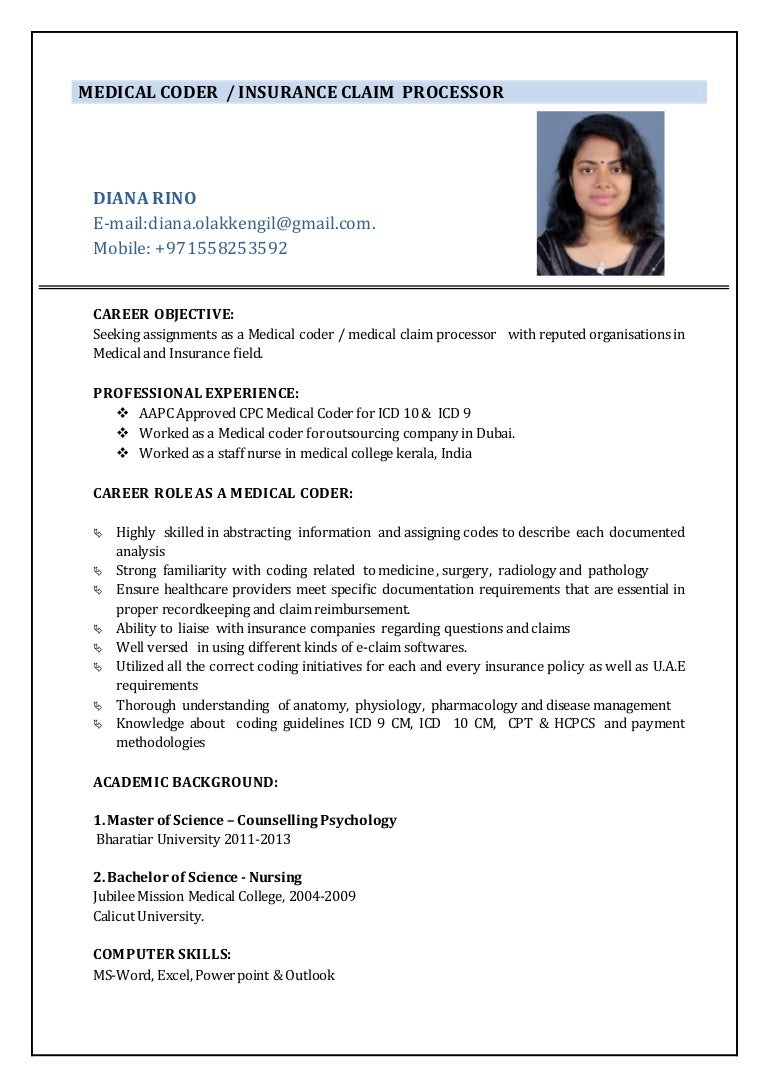 Best Resume Templates With Photo