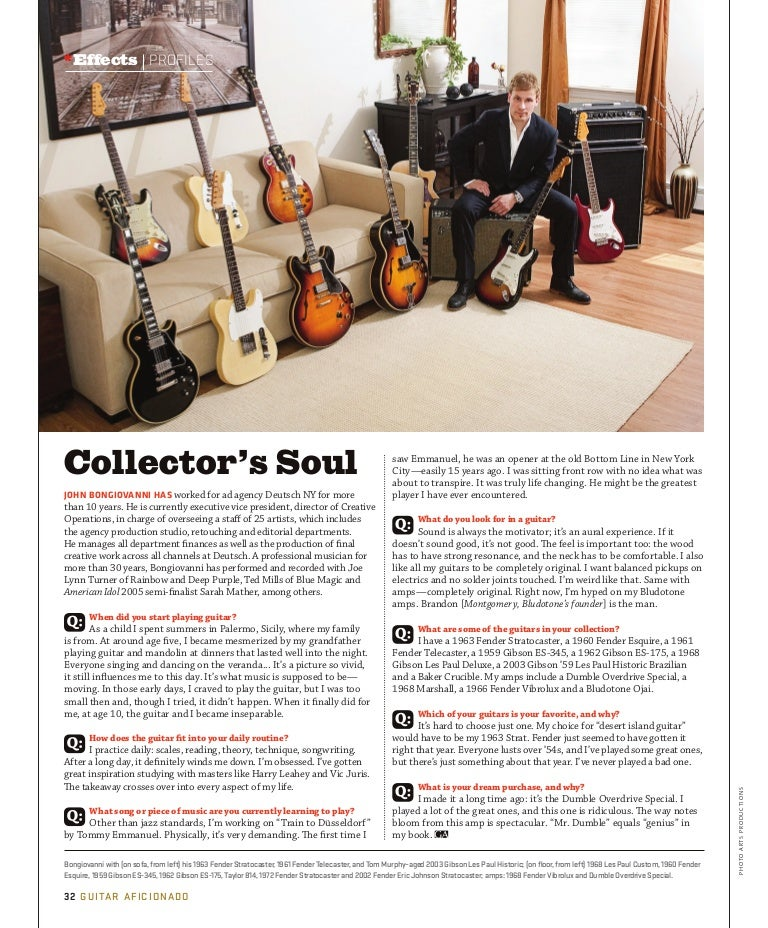 Collector's Soul in Paul Allen issue