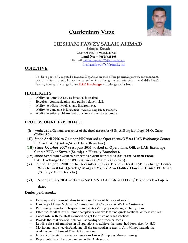 hesham CV updated