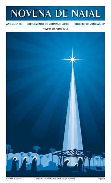 Novena de Natal 2015 - diocese de Jundiaí