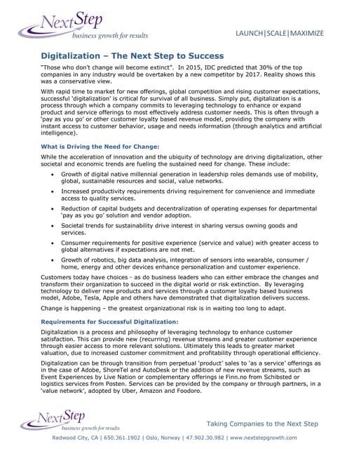 NSDigitalizationtoSuccess