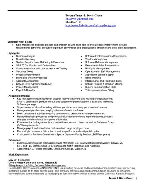monster resume