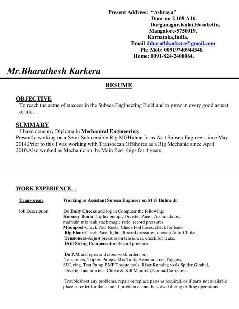 updated subsea cv pdf