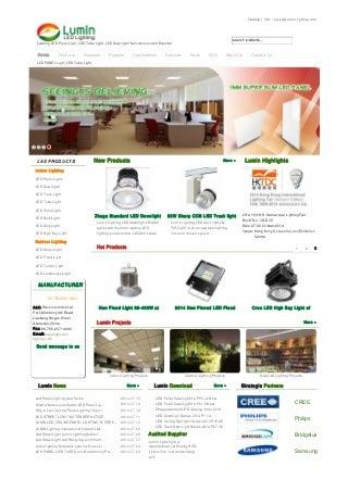 English www.lumin-lighting.com