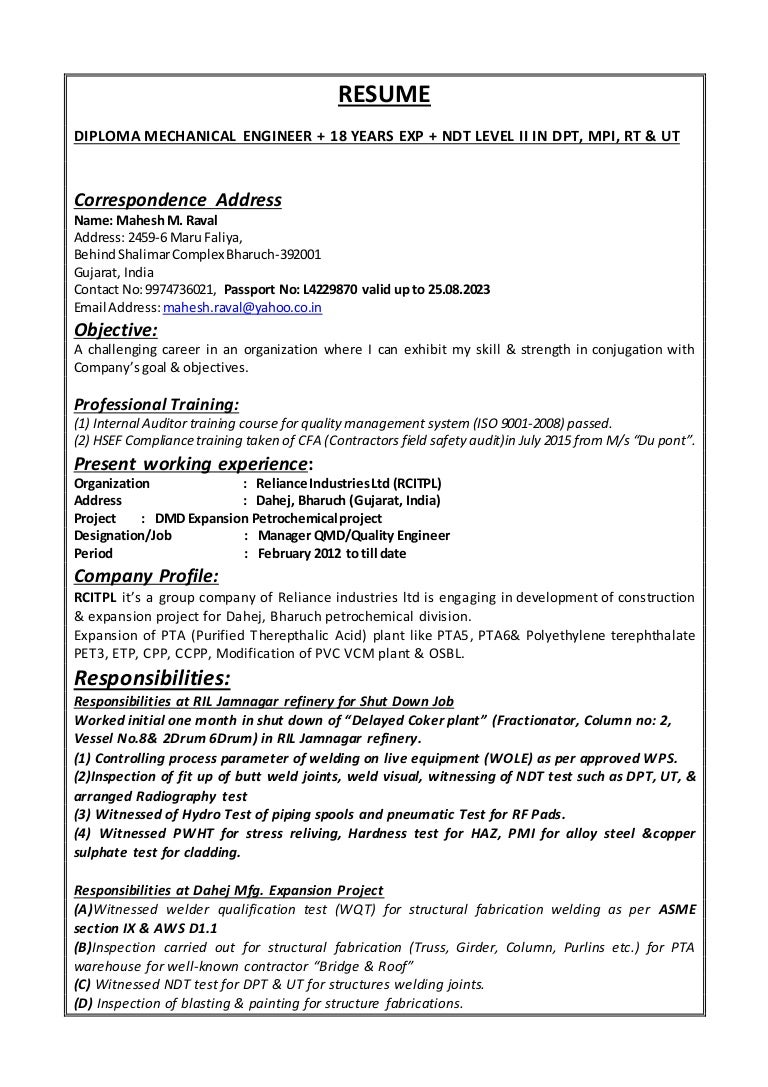 100 qc chemist cover letter 100 qc resume sample resume cv