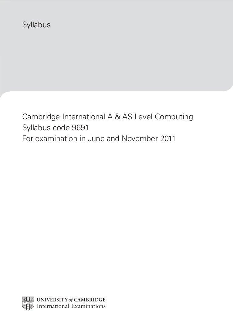 computing 9691 coursework