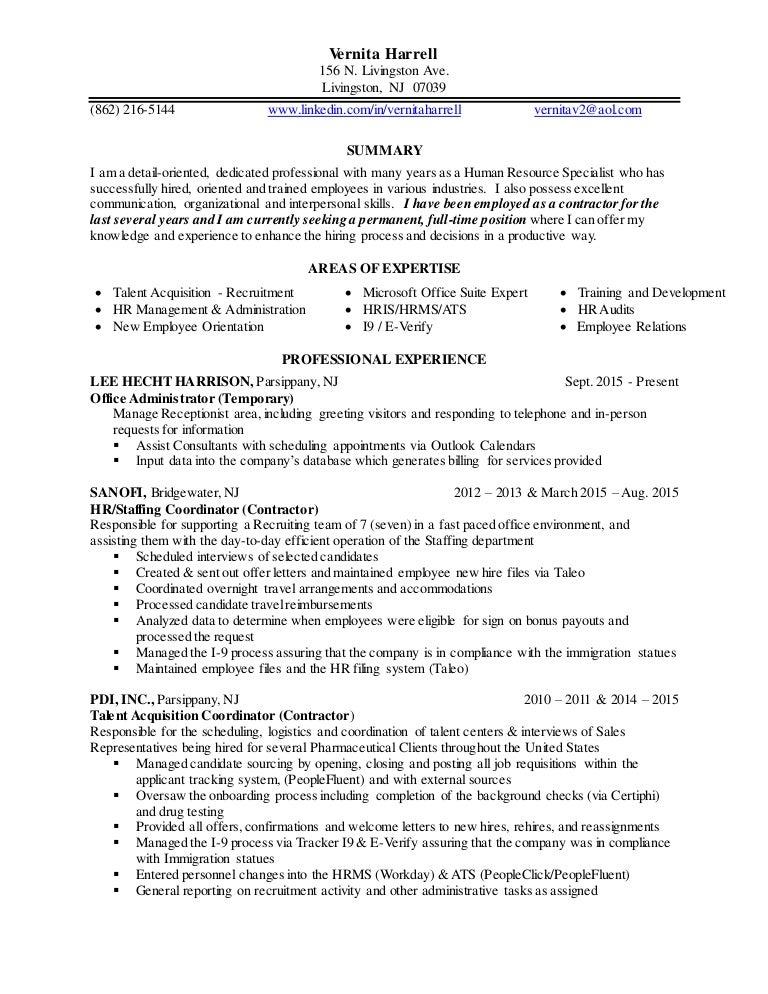 vernita u0026 39 s updated resume
