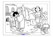 Coloring Page The Parables of Jesus The Prodigal Son
