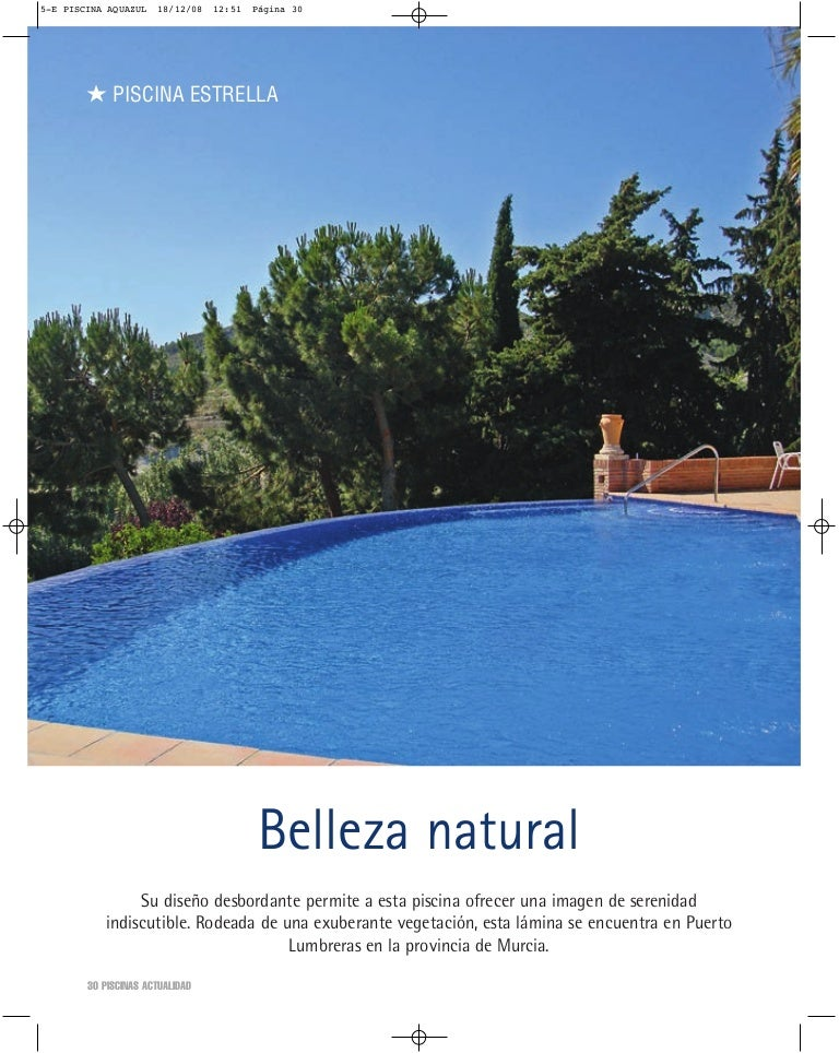 Belleza natural piscinas de ensue o - Piscinas de ensueno ...