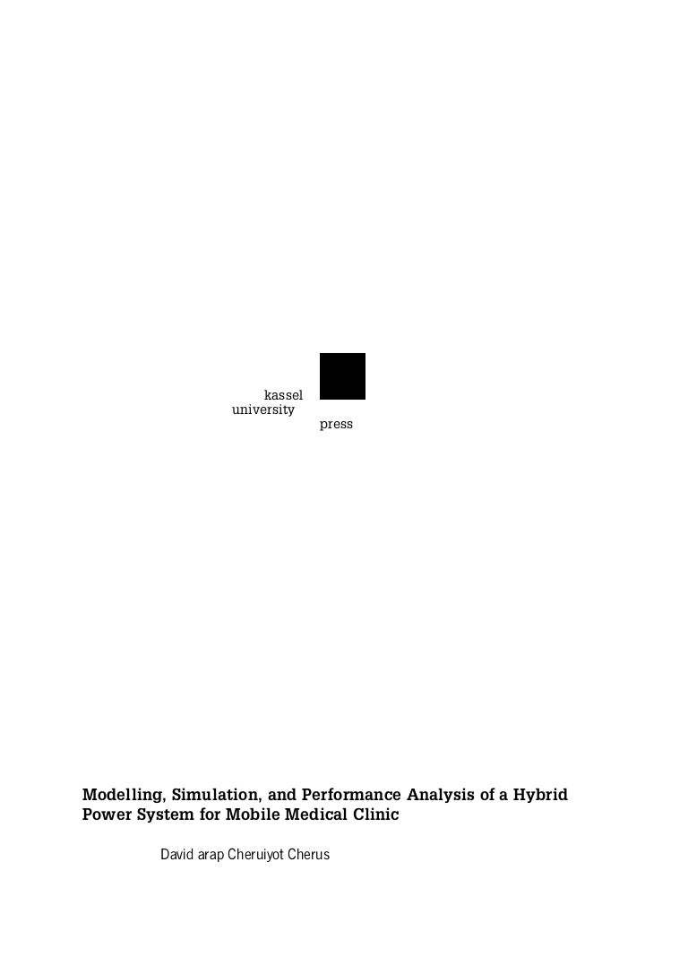 Modelling And Dynamic Simulation Of A Mobile Hybrid Power System For Threephase Alternator Automotive Voltage Regulator Circuit