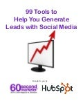 99 Tools to generate leads with socia media