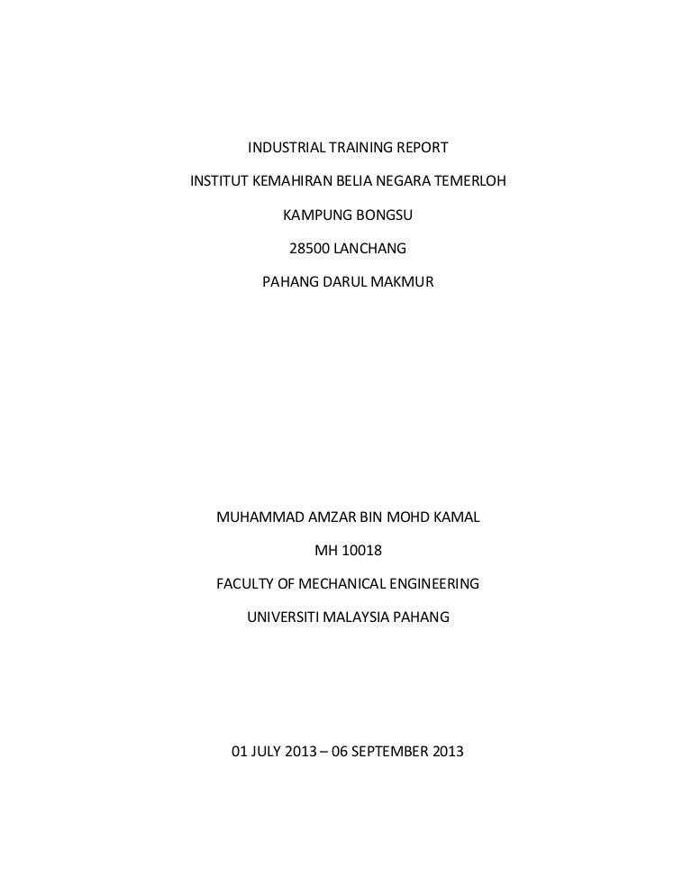 industrial report guidelines engineering universiti tunku open rh dramatic varieties com