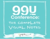 99U Conference: The Complete Visual Notes