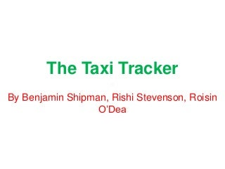 Apps for Good: Fluffeh hyenas pitch presentation - The Taxi Tracker App