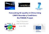 CAMS GA Forecasting Air Quality by Brasseur