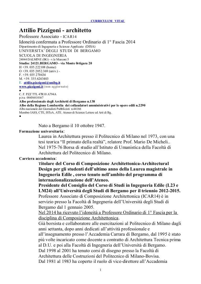 CV Pizzigoni 2015