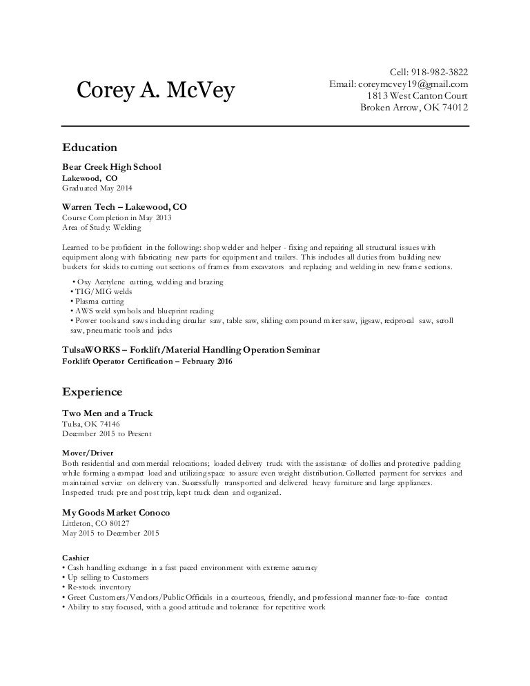 Coreys resume malvernweather Choice Image