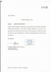 letter of recommendationsouthwest