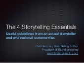 4 Storytelling Essentials for Your Marketing Message from a Professional Storyteller