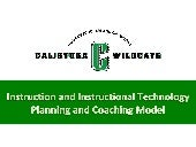 CJUSD Instructional Coaching Model