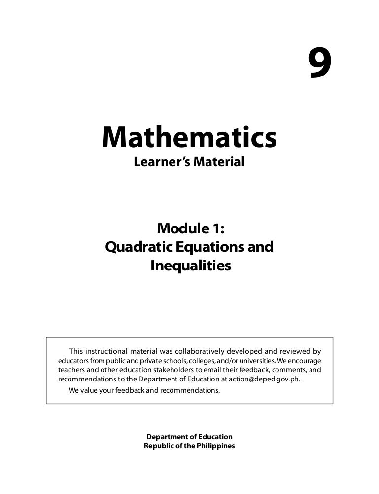 simple word problems involving quadratic equations