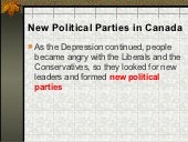 New Political Parties in Canada