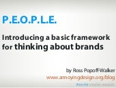 Brands Are People