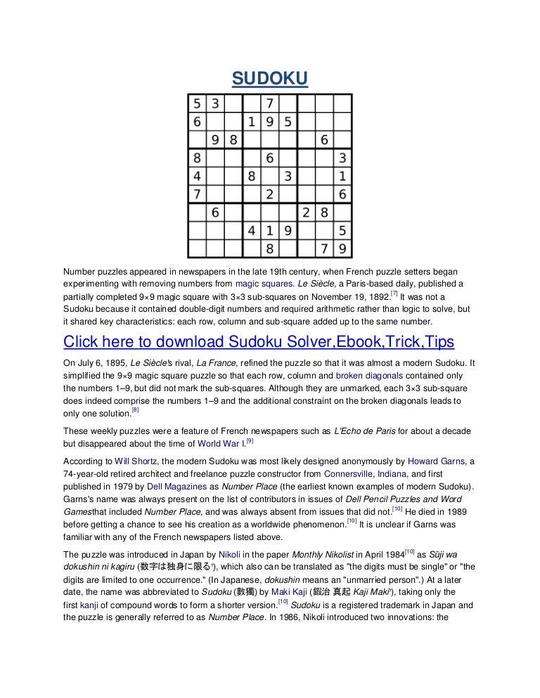 9x9 sudoku solver