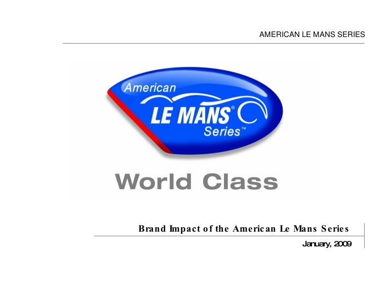 American Le Mans Series Partnership