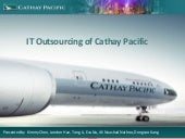 IT Outsourcing of Cathay Pacific