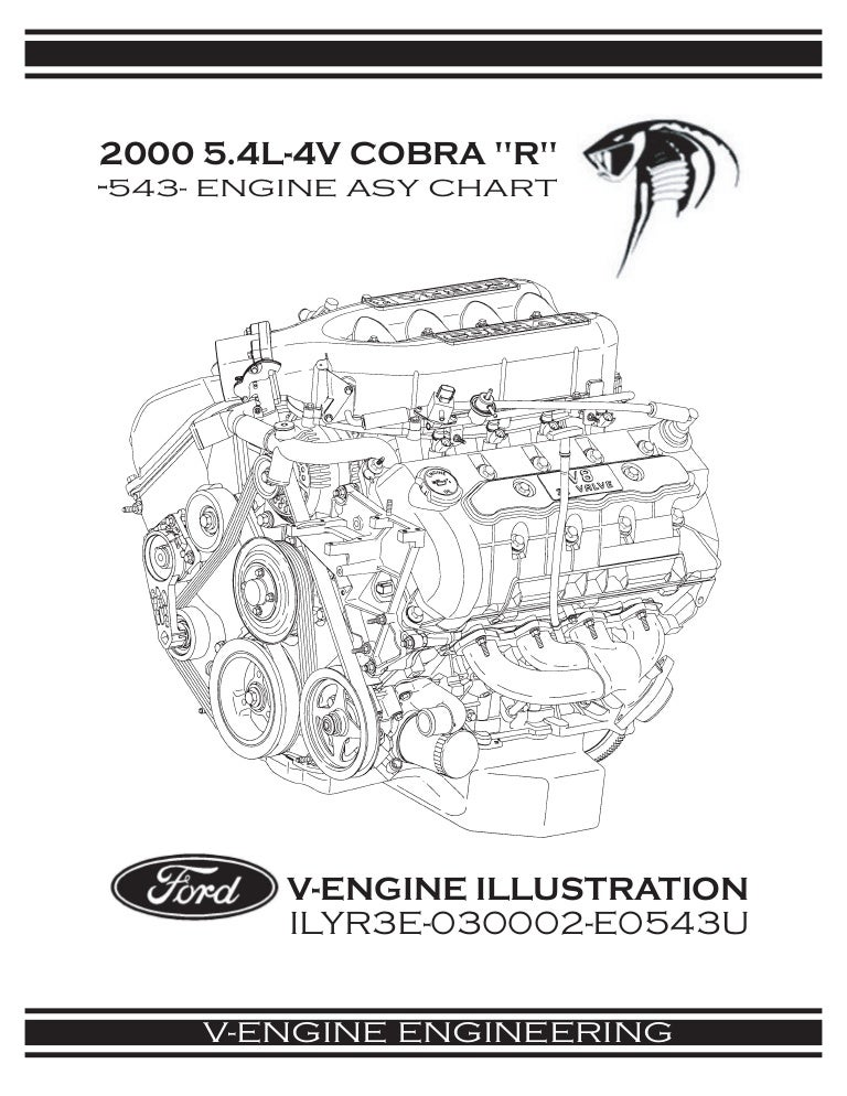 2000 Ford Mustang Cobra R Engine Manual Excerpt