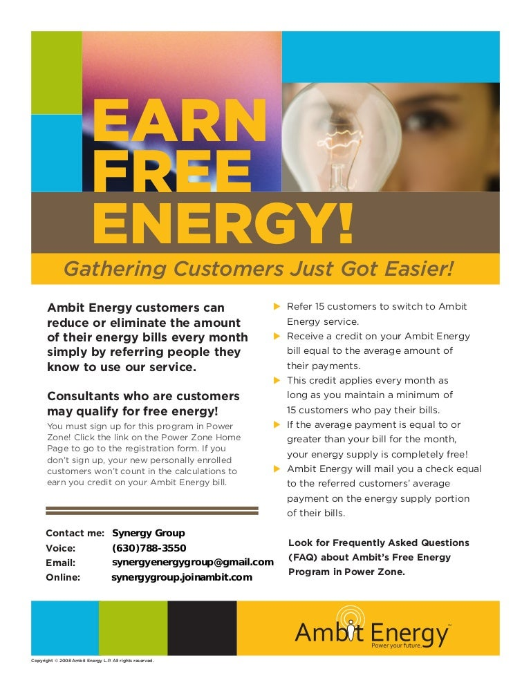 Free Energy Consultant Ny Flyer 1108