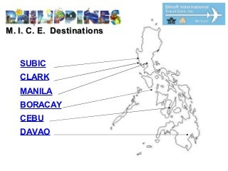 M.I.C.E. Destinations In Philippines