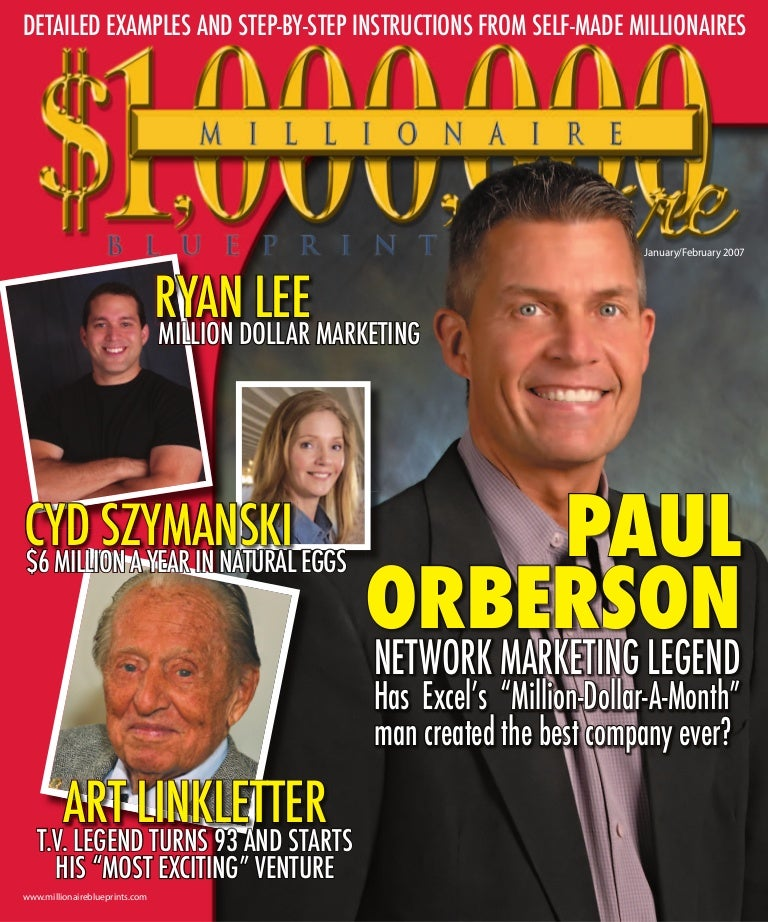 Paul orberson story millionaire blueprint malvernweather Image collections