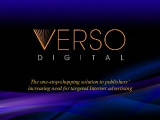Verso Digital Presentation January 09