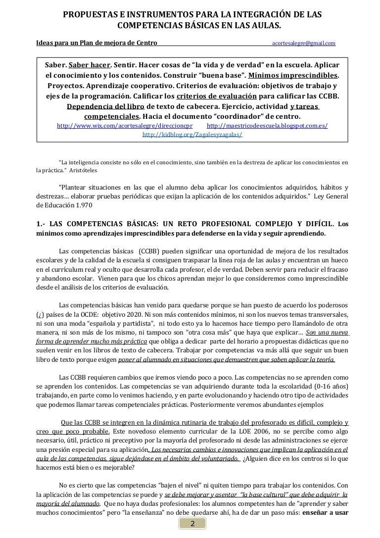 A. las competencias basicas- alfonso cortés 2014.2