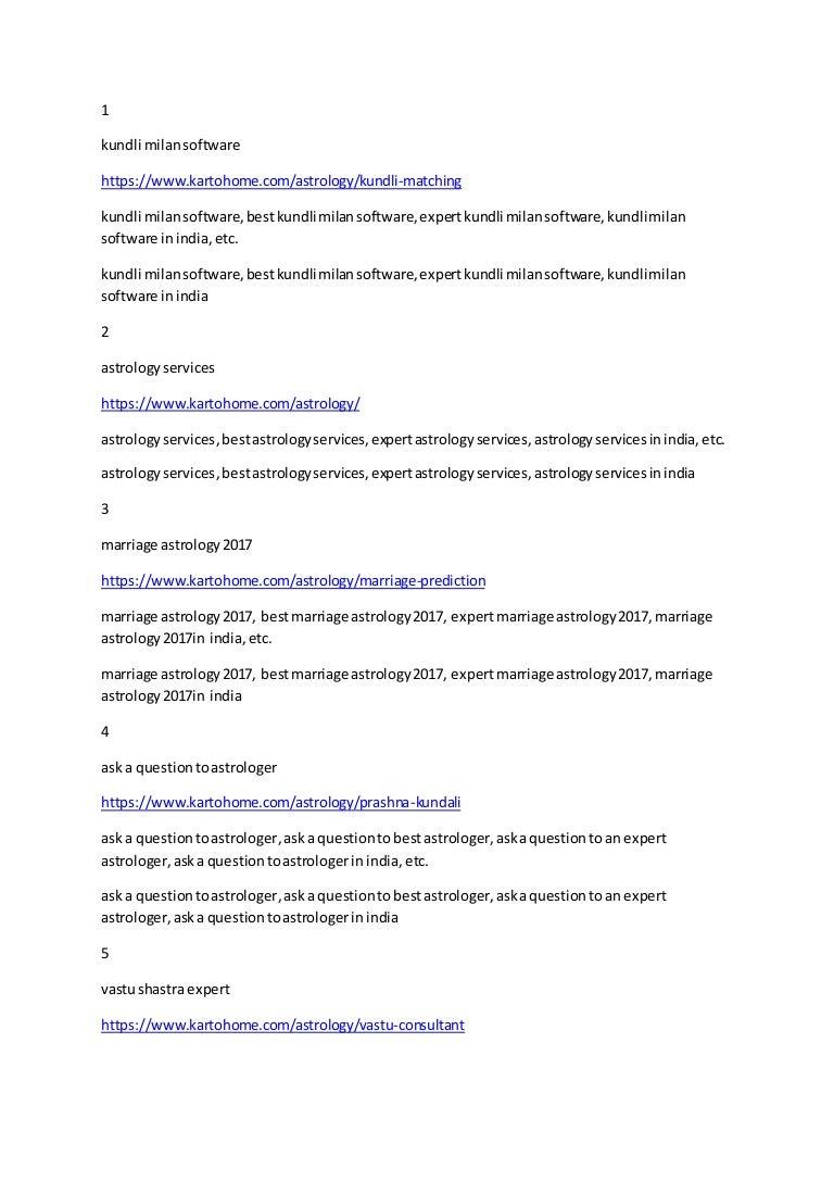 Kundali matchmaking szoftver