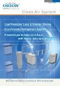Máy Sấy Khí ORION - Air Dryer Clean Air System