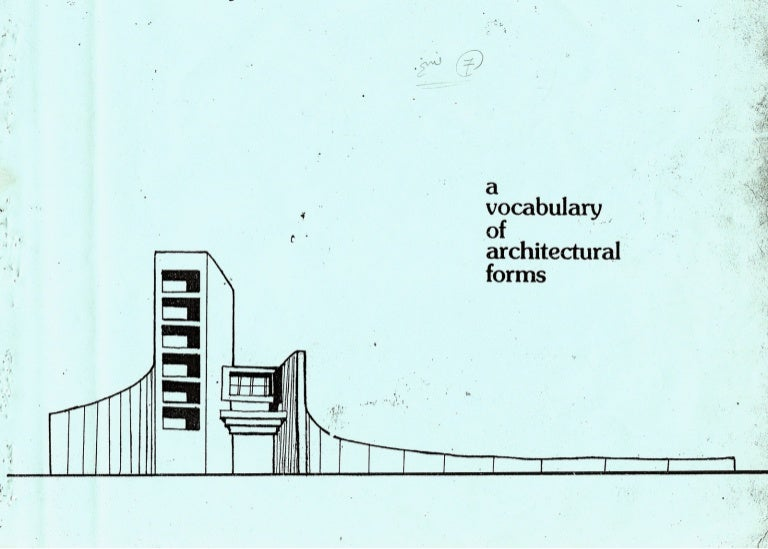 Interesting Architecture Design Vocabulary Of Is Influenced On
