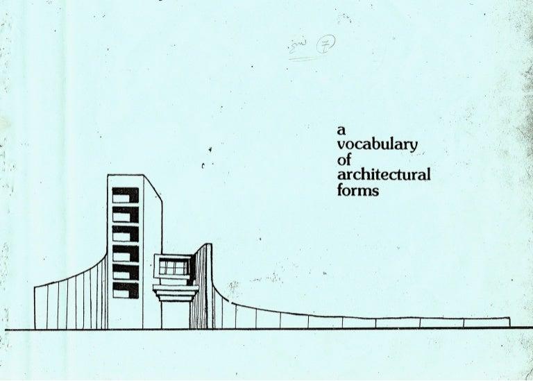 Architecture Design Vocabulary interesting architecture design vocabulary of is influenced on