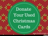 Donate Used Christmas Cards