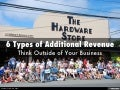 6 Types of Additional Revenue