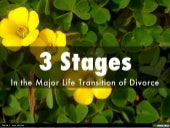 3 Stages in the Major Life Transition of Divorce