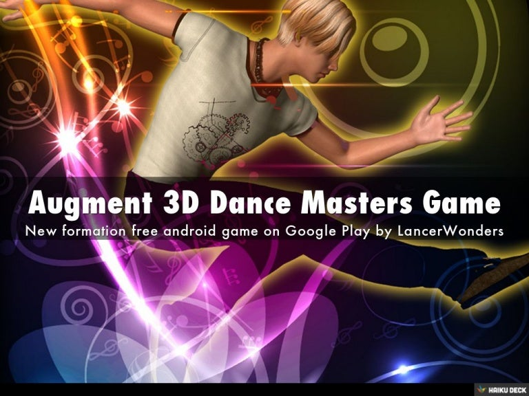 Augment 3D Dance Masters Game