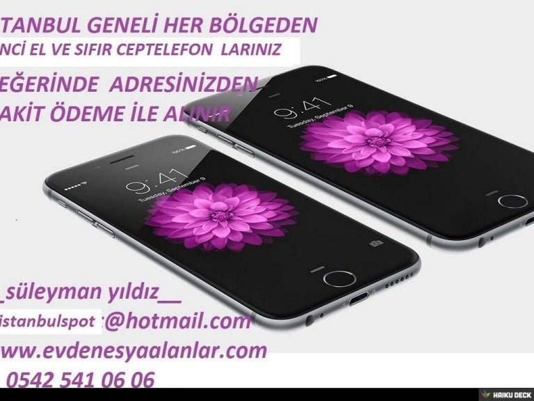 ÇINAR 2.EL & SIFIR CEP TELEFONU ALANLAR |0542 541 06 06 ...