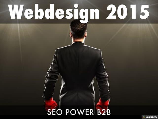 Webdesign 2015
