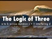 The Logic of Three