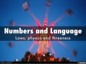 Numbers and Language