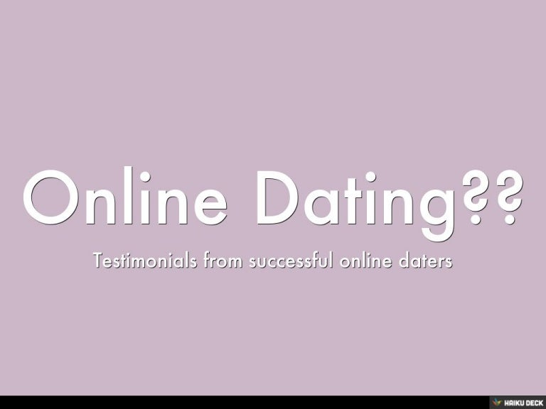 Online dating haiku