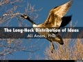 The Long-Neck Distribution of Ideas